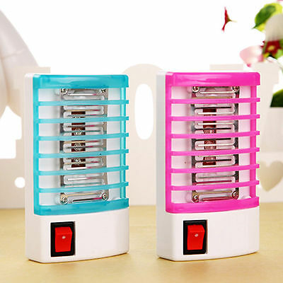 Insect Killer Lamp LED EU Plug Mosquito Electric Wasp Fly Mosquito Killer Zapper
