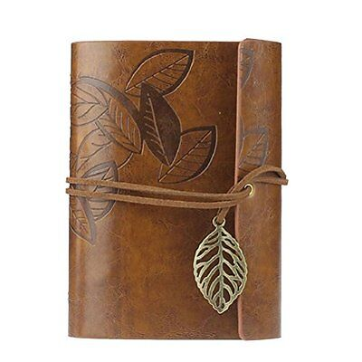 Journal Diary - OULII Leather Journal Vintage Blank Notebook Journal Diary Gift
