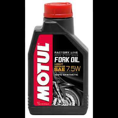 MOTUL Aceite de suspension FORK OIL FACTORY LINE MED/LIGHT 7,5W 1 L