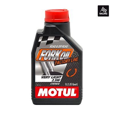 MOTUL Aceite de suspension FORK OIL FACTORY LINE VERY LIGHT 2,5W 1 L