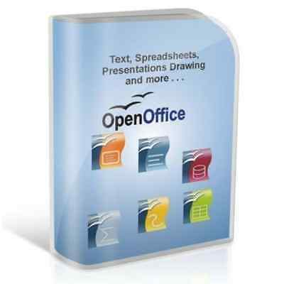 Open OFFICE 2016 PRO Edition Word Processor Compatible With Microsoft Windows