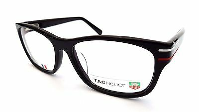 Tag Heuer Phantom 0534 001 Frames Glasses Shiny Black White Red - Clearance! 006