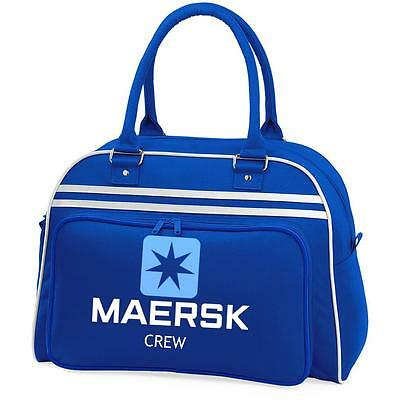 Maersk Shipping Retro hand bag Bag .NEW includes novelty luggage tags