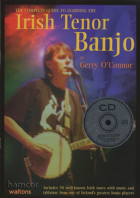 The Complete Guide to Learning the Irish Tenor Banjo TAB Music Book/CD 4-String