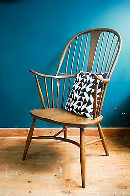 Ercol Chairmakers Chair 911 Golden Dawn Finish Fireside Mid Century