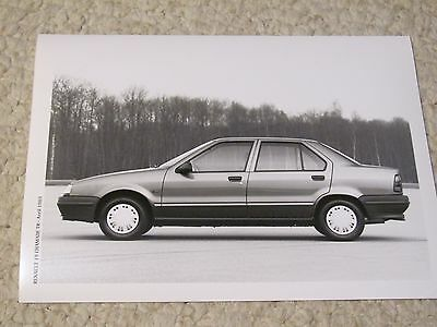 1989 Renault 19 Chamade Tr Original Press Photo.