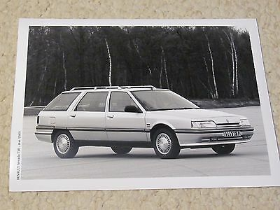 1989 Renault Nevada Original Press Photo..