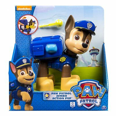 Original Paw Patrol Jumbo Action Pup Large Dog Kids Figure Doll Toy Gift Chase
