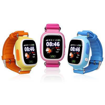 GPS Touch Screen WIFI Positioning Smart Watch Q90 Children SOS Call Location