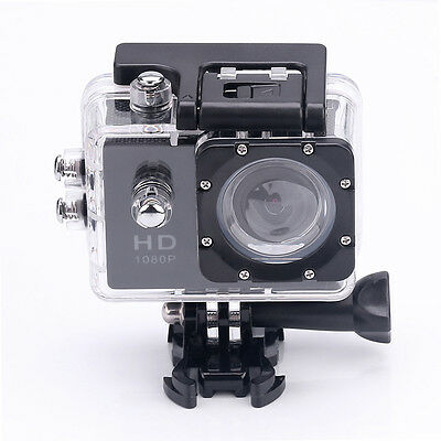 HD 1080P Bike Cam DV Waterproof Sports Camera Helmet Action DVR Video Camcorder