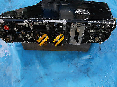 ww2 aircraft control panel good condition