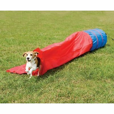 Barkshire Lightweight and Compact Dog Agility Tunnel with Chute