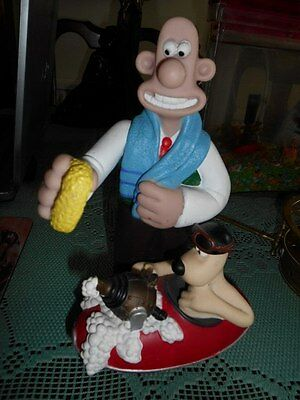 Vintage Wallace And Gromit Figure.1989.very Collectable.