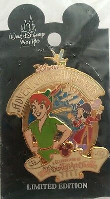 Disney DCL Peter Pan Adventures On The High Seas WDAC Captain Hook LE Pin