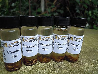 Mandrake oil anointing magical oil spell supplies spells witchcraft