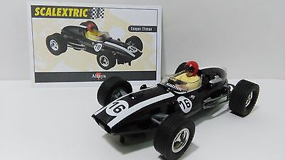 SLOT 1:32 SCX SPAIN SCALEXTRIC ALTAYA COOPER CLIMAX F1 No 16 BLACK Lted edition