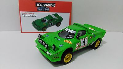 Slot 1:32 Scx Spanish Scalextric Altaya Lancia Stratos Rally Limited Edition