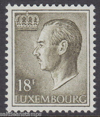 LUXEMBOURG - 1986 18f Brown-olive - UM / MNH