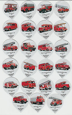 Firefighting : Fire Engines : complete creamer top set