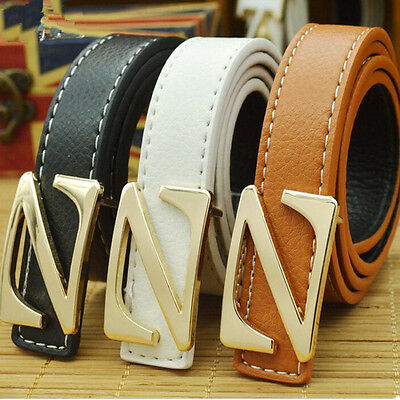 New Fashion Casual Children Faux Leather Adjustable KID Belts