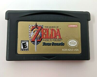 Legend of Zelda A Link to the Past & Four Swords Game Boy Advance GBA Tested!