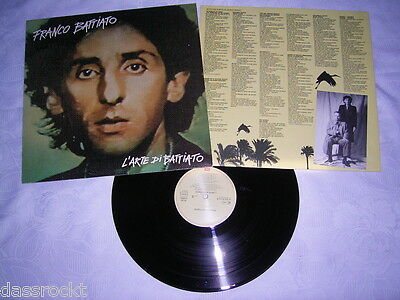 LP - Franco Battiato L´Arte Di Battiato - 1982 OIS # cleaned