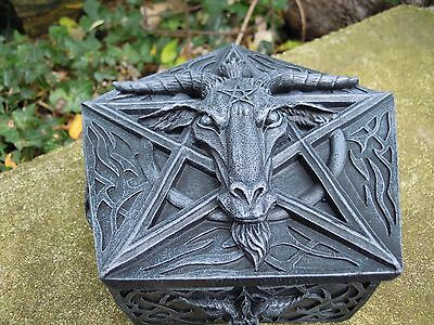 Baphomet Box altar spell supplies Witchcraft Pagan