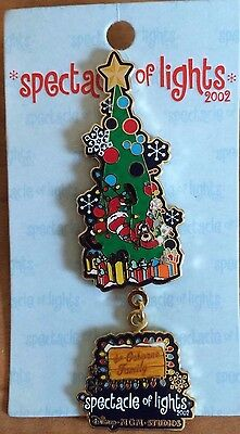 Disney WDW Spectacle of Lights Goofy Christmas Tree Dangle LE Pin NEW