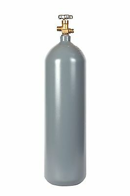 15 lb Steel CO2 Cylinder Recertified - Fresh Hydro CGA320 Valve - FREE SHIPPING