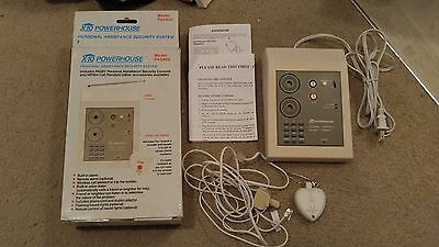 CIB Excellent Cond. X10 Powerhouse Personal Assistance Security System PA5800