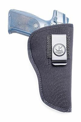 VEGA RIGHT ANKLE LEATHER BROWN HOLSTER THUMB SNAP FOR Beretta