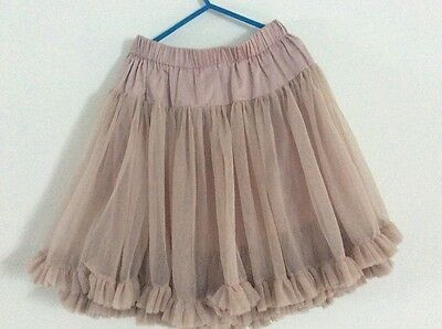Kids girls the little white company skirt size age 7-8 years