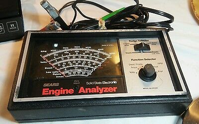Vintage Sears Solid State Electronic Engine Analyzer Model: 161.2163