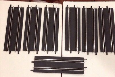 Set Of 7 Carrera Go!! Long Straight Extensions. Car Track 1/43 Scale