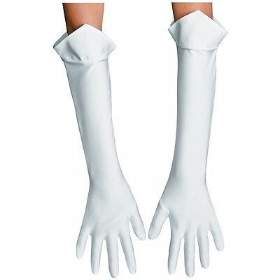 Princess Peach Gloves Costume Accessory Adult Mario Brothers Halloween