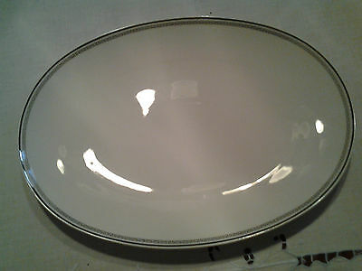 """Stonegate/Heritage Bavarian Countess  15 1/2"""" Platter with Gold Trim"""