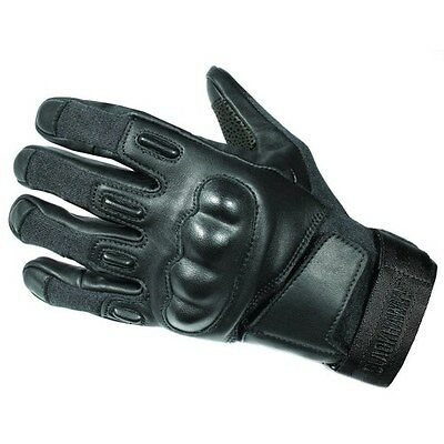 New! Blackhawk S.O.L.A.G. HD Black Tactical Gloves with Kevlar X-Large 8151XLBK