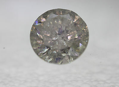 Certified 4.58 F Color Round Brilliant Enhanced Natural Diamond 10.45mm VG VG VG
