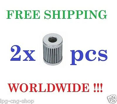 2x LPG Autogas Lovato Gasfilter-Set Easy Fast