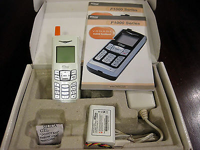 UTStarcom F1000 VoIP VONAGE WiFi Wireless Phone Model: F1000