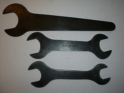 3 x D Napier & Sons aircraft maintenance spanners / wrenches DNS BSF & AF WW2 OU