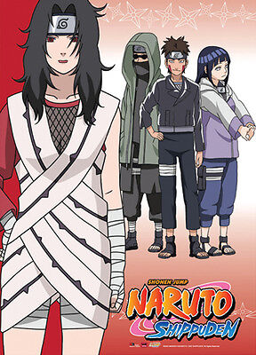 Naruto Shippuuden Wall Scroll Poster Anime Manga MINT