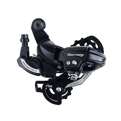 New Shimano Tourney RD-TY500 Direct-Mount Rear Derailleur 6/7 Speed Black