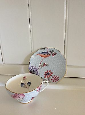 Wedgwood China - Cuckoo Blue cup & saucer