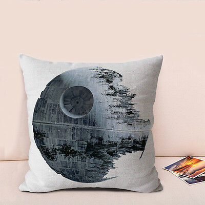 Star Wars Personality Pattern 17 Cotton Linen Sofa Cushion cover Pillowcase 45cm