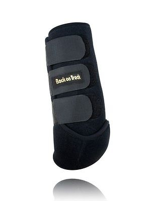 BACK ON TRACK Equine Horse Exercise Boots Heat Therapy Hind Legs Pair Medium