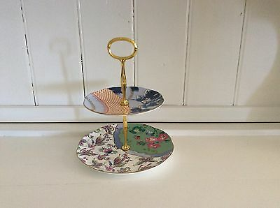 Wedgwood China - Butterfly Bloom Cake stand