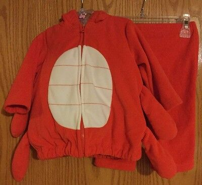 Carters Infant Lobster Halloween Costume /6-9 Months - Used