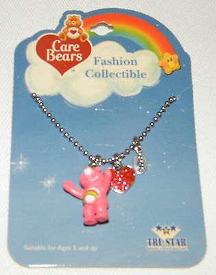 Cheer Care Bear Necklace Pendant Jewelry