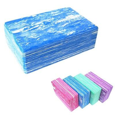 New Yoga Block Pilates Foam Brick Home Stretch Aid Fitness Exercise Sport Tool